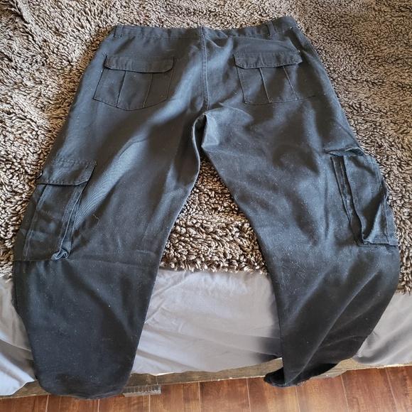 931cbd81479 RESET - Mens Black Slim Cargo Pants. M 5c6b0e91c61777a836e763f8